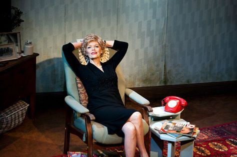 Belinda Giblin plays Stella Goldschlag in Gail Louw's BLONDE POISON currently playing the Old Fitzroy theatre. Production photography by Marnya Rothe.