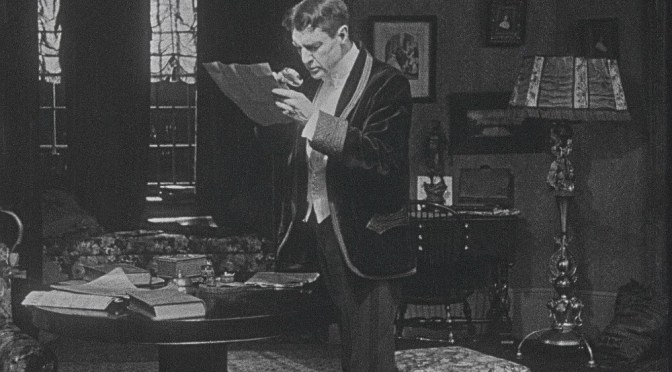 AUSTRALIA'S SILENT FILM FESTIVAL: WILLIAM GILLETTE AS SHERLOCK HOMES