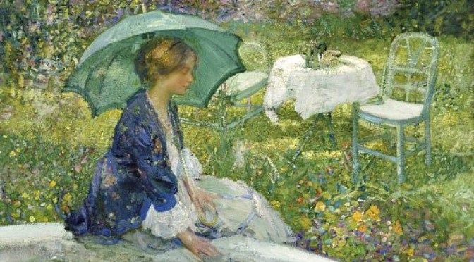 EXHIBITION ON SCREEN : THE ARTIST'S GARDEN : AMERICAN IMPRESSIONISM