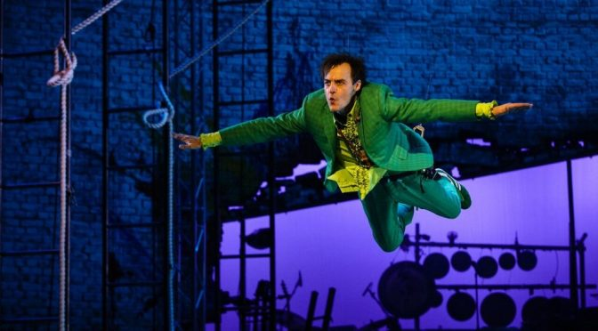NT LIVE:PETER PAN IS STRIKING AND ORIGINAL