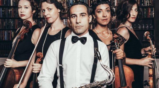 NICK RUSSONIELLO AND THE GOLDEN AGE QUARTET – A GIVEAWAY TO THIS UNIQUE CONCERT EXPERIENCE