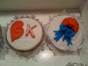 Royal Wedding Cupcake