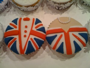 Royal Wedding Cupcake