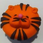 Tiger Cupcake