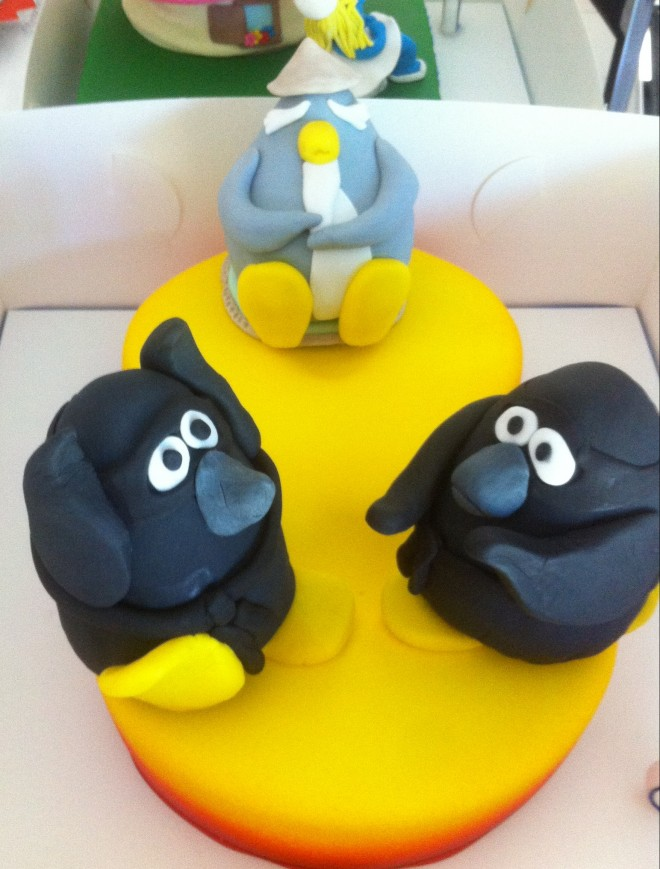 Club Penguin Cake Toppers