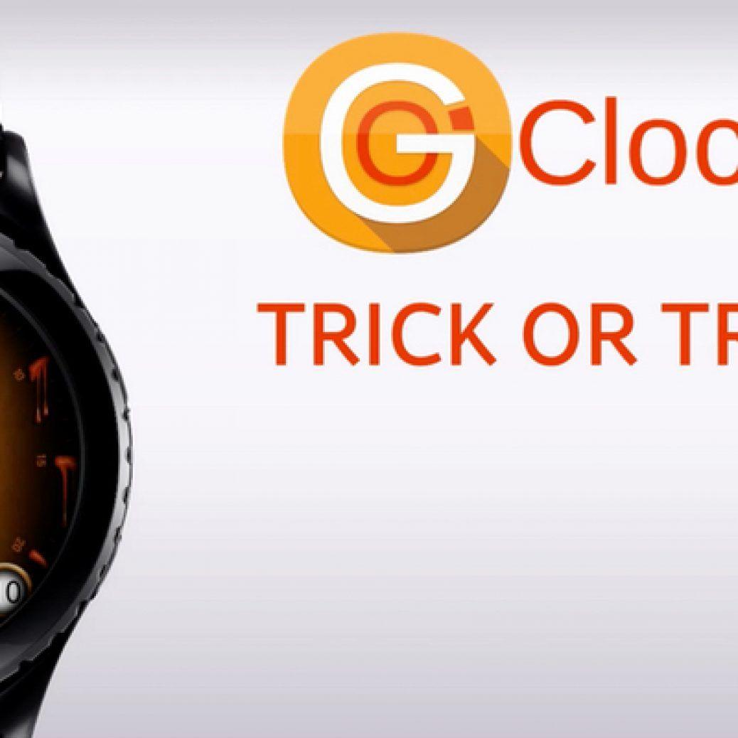 Samsung Gear S2 Halloween Watch Face
