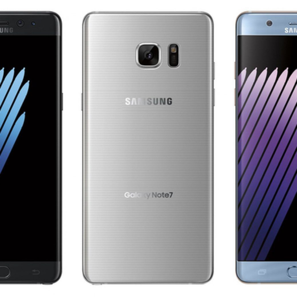 Samsung Galaxy Note 7 Colors1