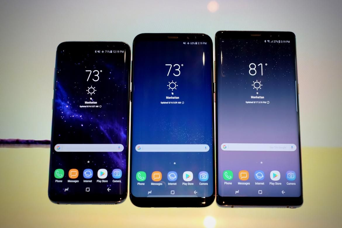 samsung galaxy s9 performance compared to s8