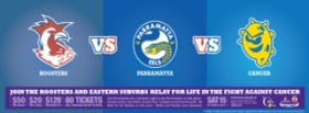 Roosters v Eels tickets