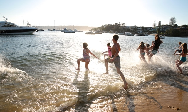 Free summer school holiday activities at Watsons Bay