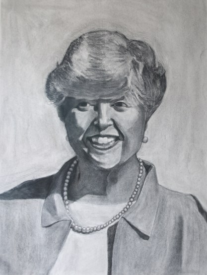 drawing of grandmother