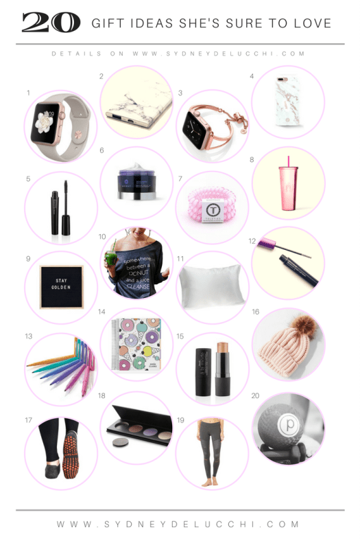 20 gift christmas present ideas for her
