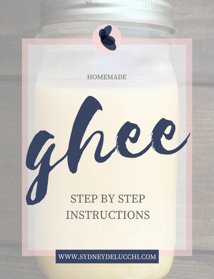 Easy Homemade Ghee Recipe