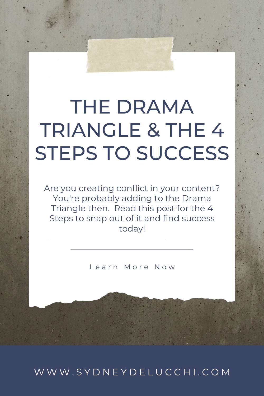 drama triangle tips for conflict resolution