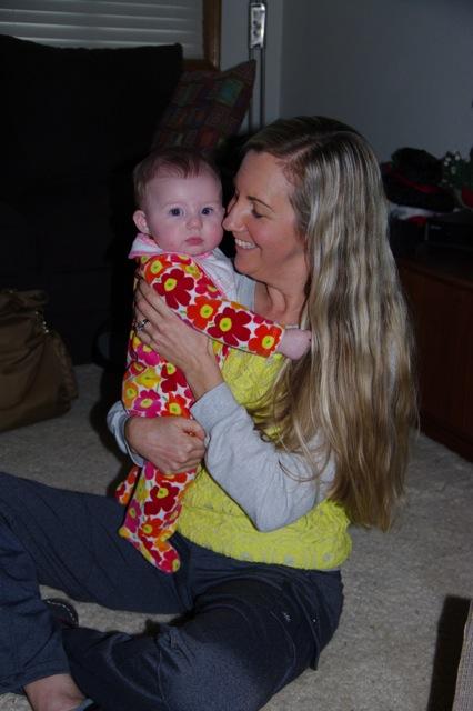 Aunt Sandy with Sydney