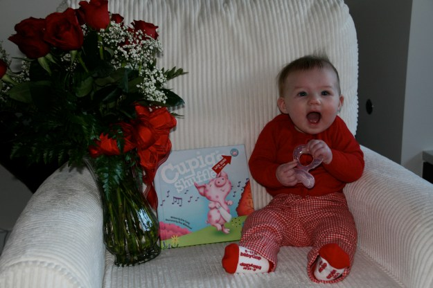 Sydney excited about first Valentines Day