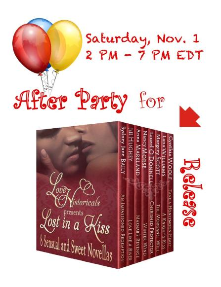 Love Historicals Release Party Graphic