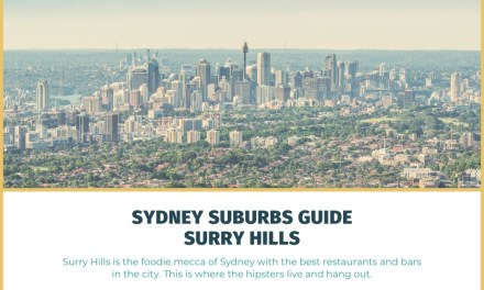 Sydney Suburbs Guide: Surry Hills