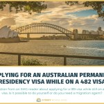 Applying for an Australian Permanent Residency Visa While on a 482 TSS Visa