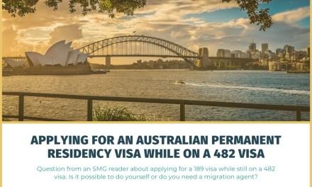 Applying for an Australian Permanent Residency Visa While on a 482 TSS Visa