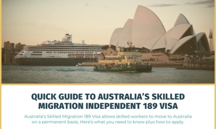 Quick Guide to Australia's Skilled Migration Independent 189 Visa