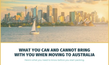 What You Can and Cannot Bring With You When Moving to Australia