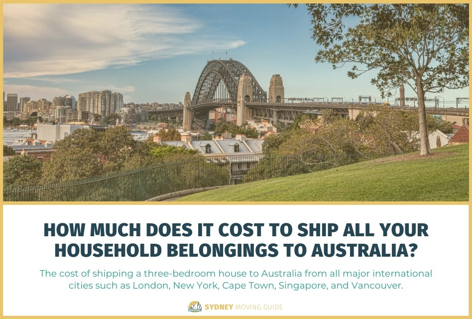 How Much Does It Cost to Ship Your Household to Australia?