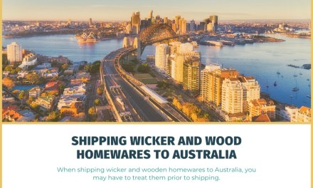Can You Ship Rattan, Wicker, and Wood Homewares to Australia?