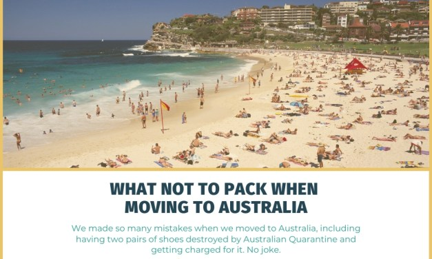 What NOT to Pack and Ship When Moving to Australia