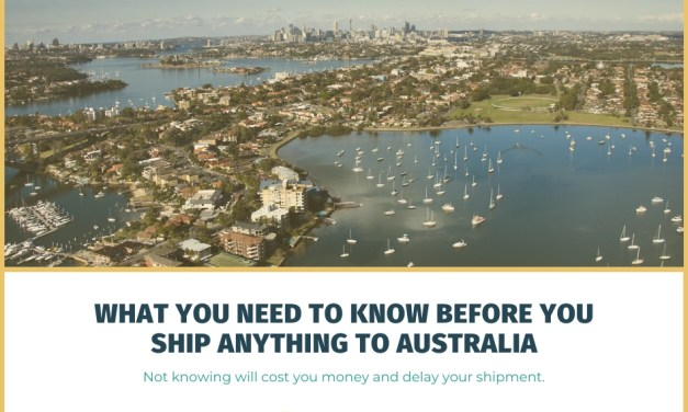 What You Need to Know Before You Ship Your Belongings to Australia