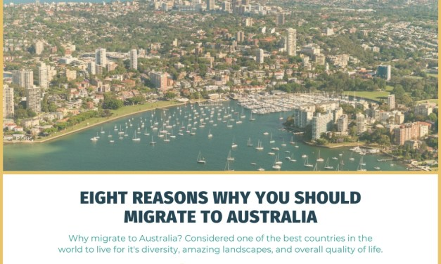 Eight Reasons Why You Should Migrate to Australia