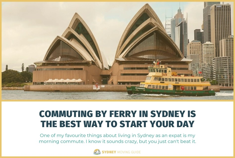 Commuting by Ferry in Sydney is the Best Way to Start Your Day