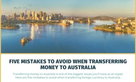 Five Mistakes to Avoid When Transferring Money to Australia
