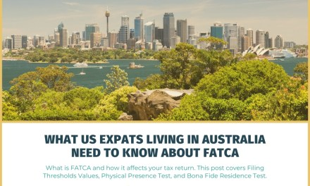 What US Expats Living in Australia Need to Know About FATCA