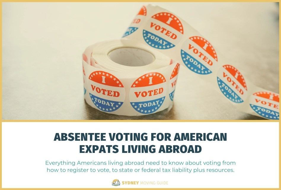 Absentee Voting for American Expats Living Abroad