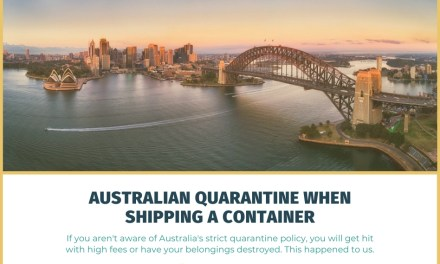 What You Need to Know About Australian Quarantine When Shipping a Container to Australia