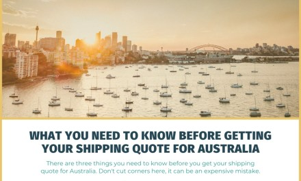 What You Need to Know Before Getting Your Shipping Quote for Australia
