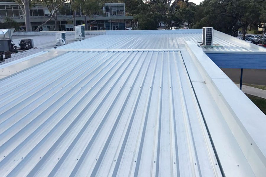 after metal roof repairs sydney northside