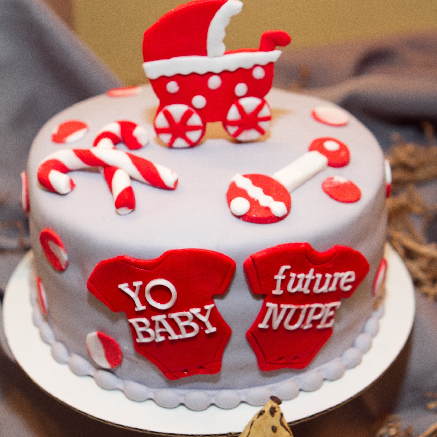 Red Baby Shower Cake Choice Image Baby Shower Ideas