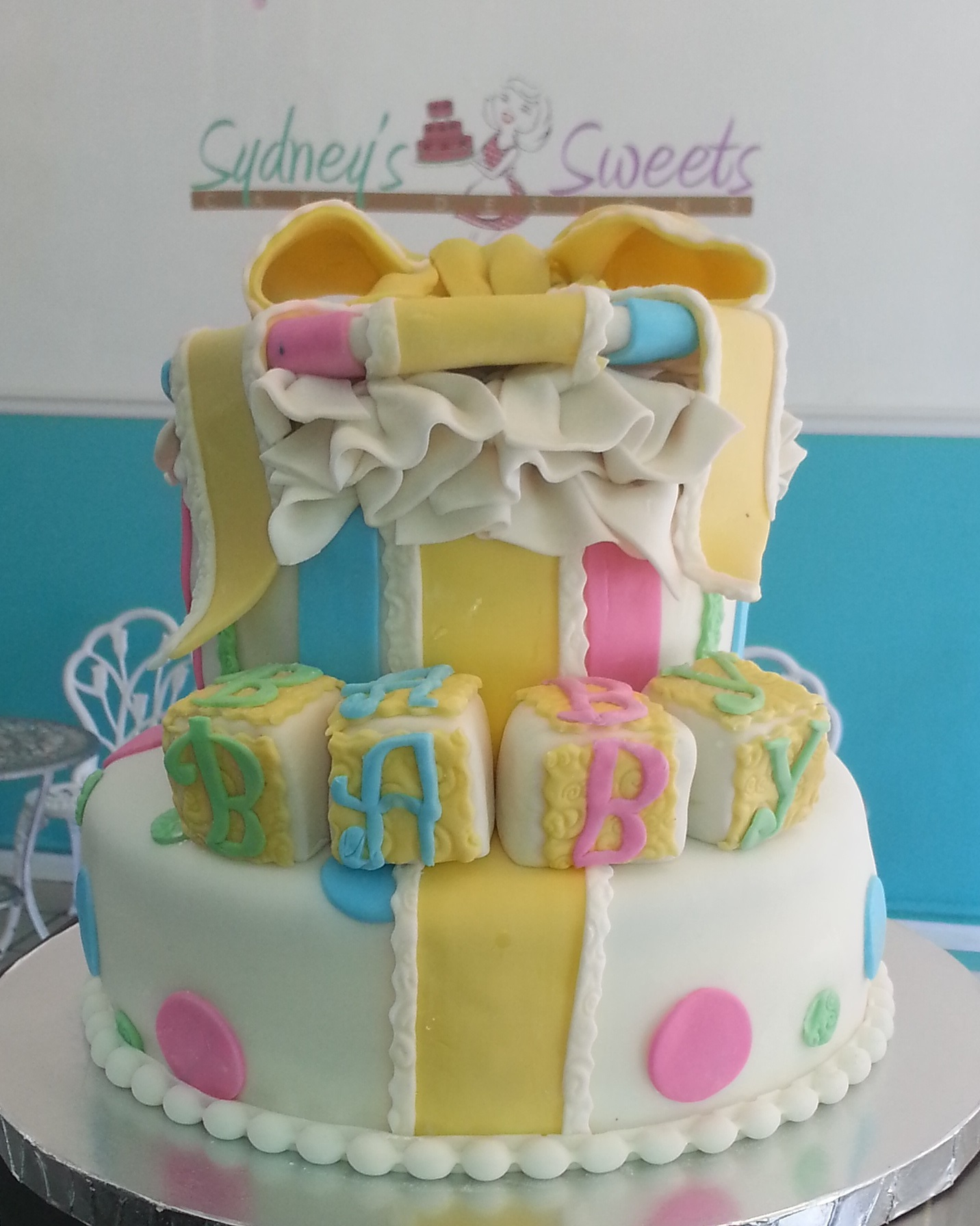 Baby Shower Cakes Sydney West