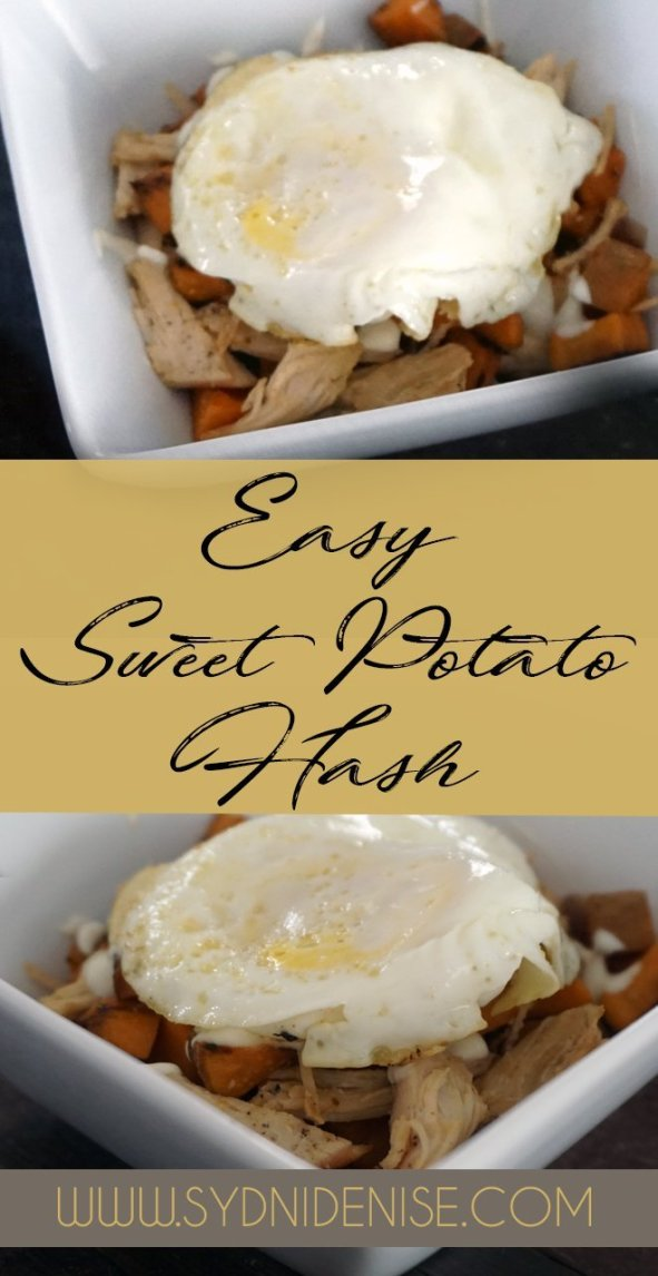 Easy Sweet Potato Hash - Sydni Denise