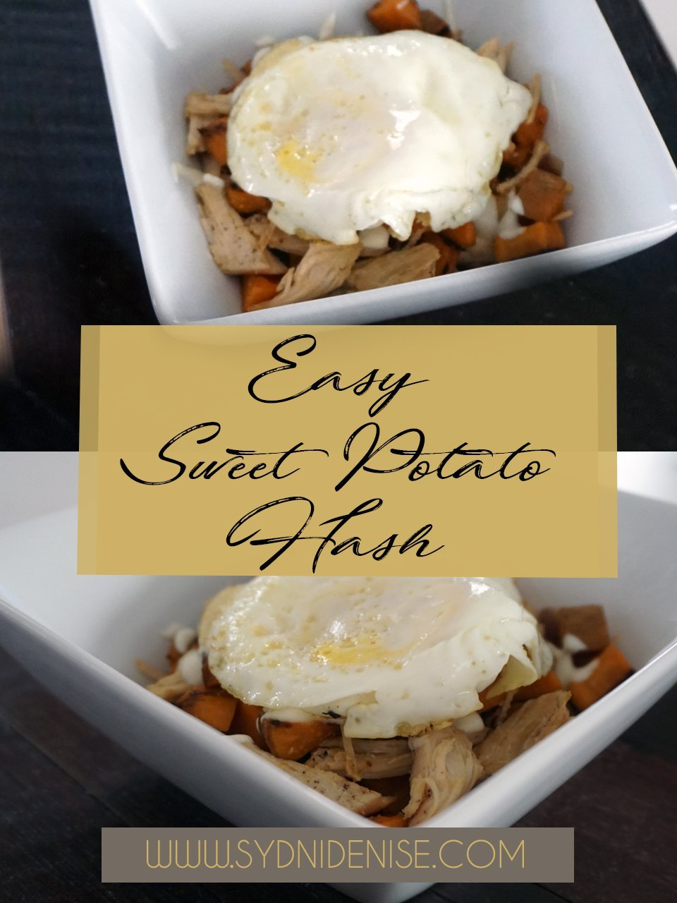 Fall Recipes : Easy Sweet Potato Hash