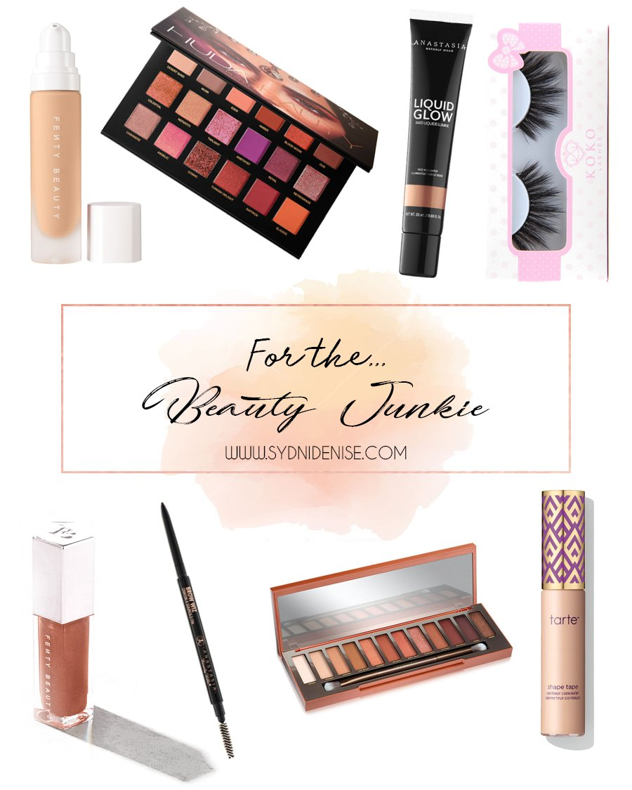 Sydni denise gift guides for beauty junkie 2017