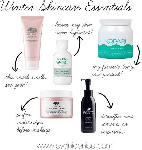 winter skincare essentials | Sydni Denise