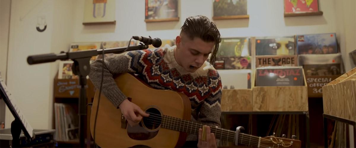 Tom Yosi at Syd Records