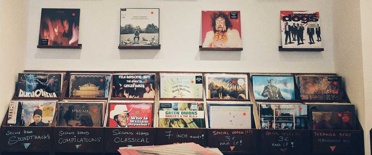 Sales at Syd Records