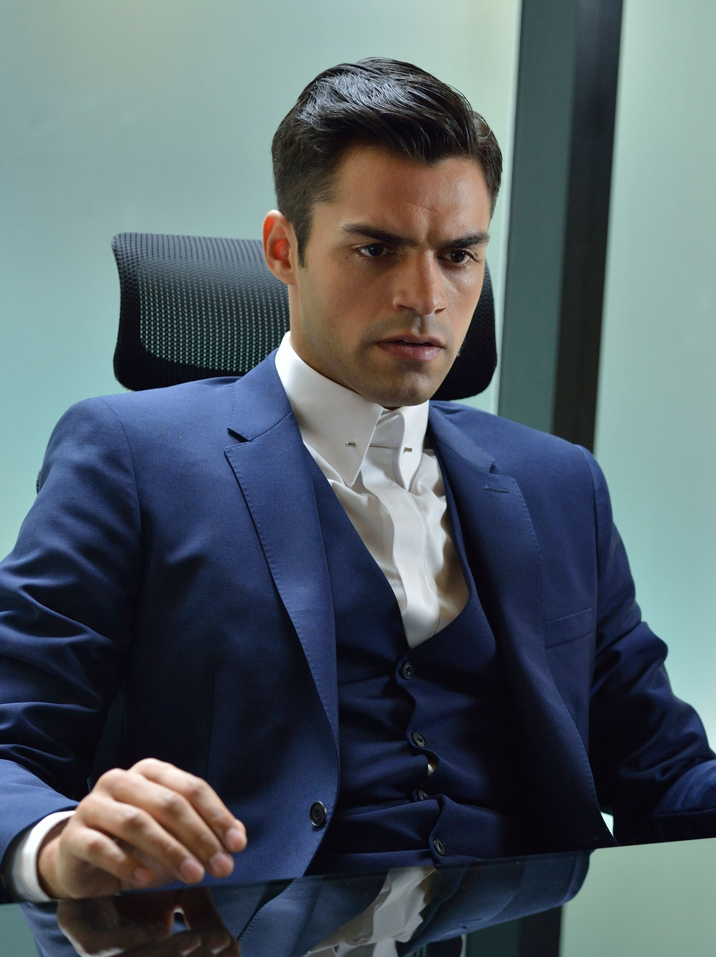 Sean Teale Ben Larson Cast Incorporated SYFY WIRE