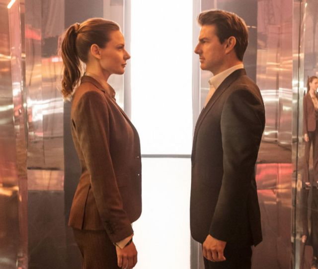 Mission Impossible Fallouts Rebecca Ferguson On Being Tom Cruises Equal Syfy Wire