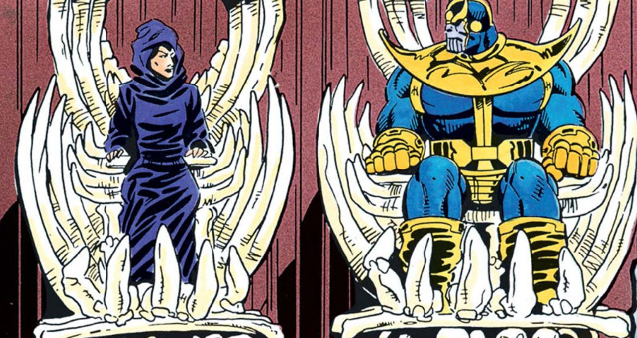 Image result for thanos and death