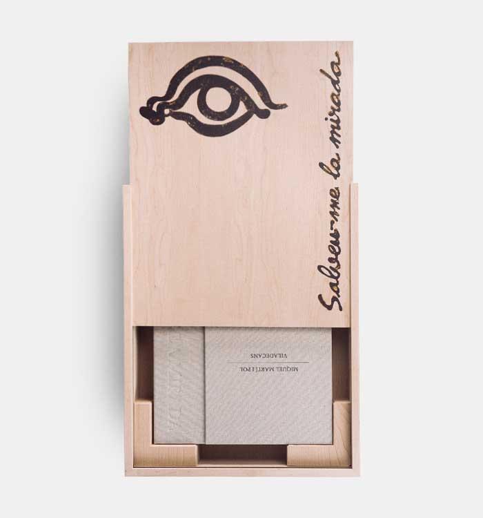 Salveume la mirada obra fuera de formato Joan Pere Viladecans Premio Extraordinario de la Industria y la Comunicacion Grafica Catalana